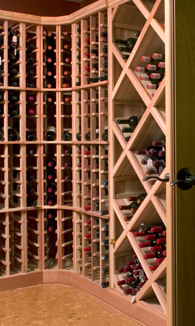 Large wine cellar